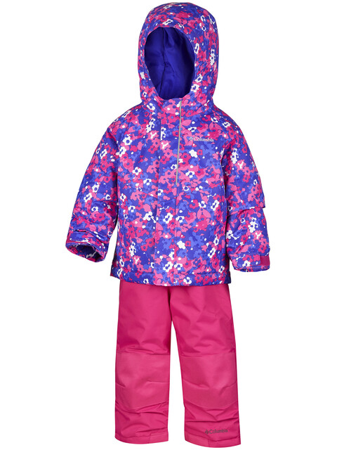 Columbia Buga Winter Set Toddlers Punch Pink Floral Camo